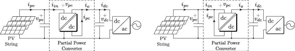 Configurations of Step-down Partial power Converters